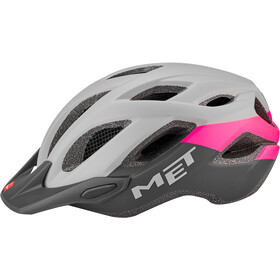 MET Crossover Casque, gray/pink